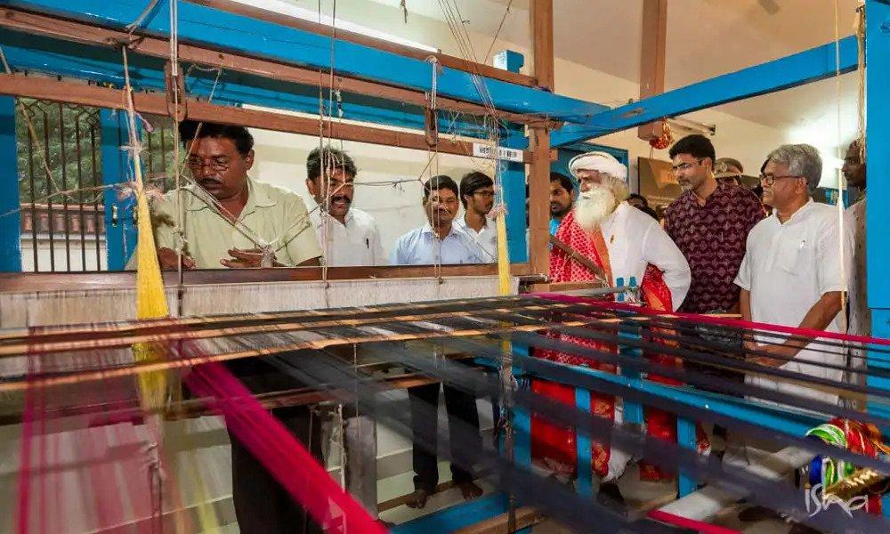 Saving India's Incredible Weaves